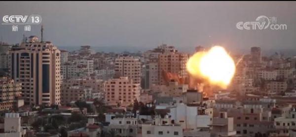 以军轰炸哈马斯多地