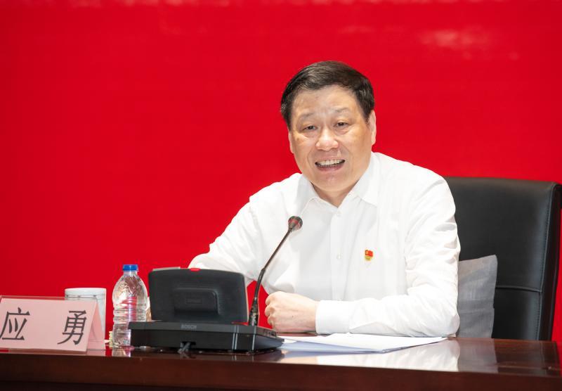 上海市长为建设交通系统党员上党课,强化城市精细化管理,解决好市民关心的住房问题