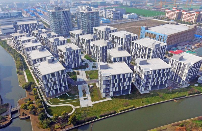 世界城市群大数据屏上,以上海松江为策源地的长三角G60科创走廊,为何聚成光带(图11)