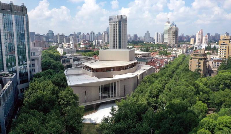 淮海路上又添新地标,上音歌剧院今年10月投入使用