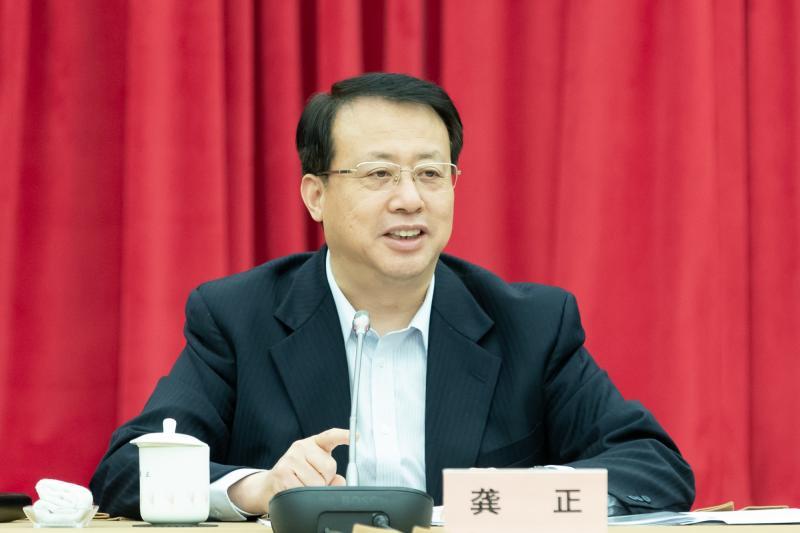 龚正主持召开市政府党组会,统筹推进上海疫情防控和经济社会发展