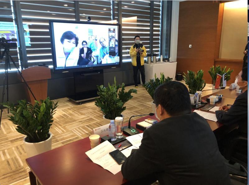 """""""朋友有难,中国人不会袖手旁观"""",上海专家近期向多国分享抗疫经"""