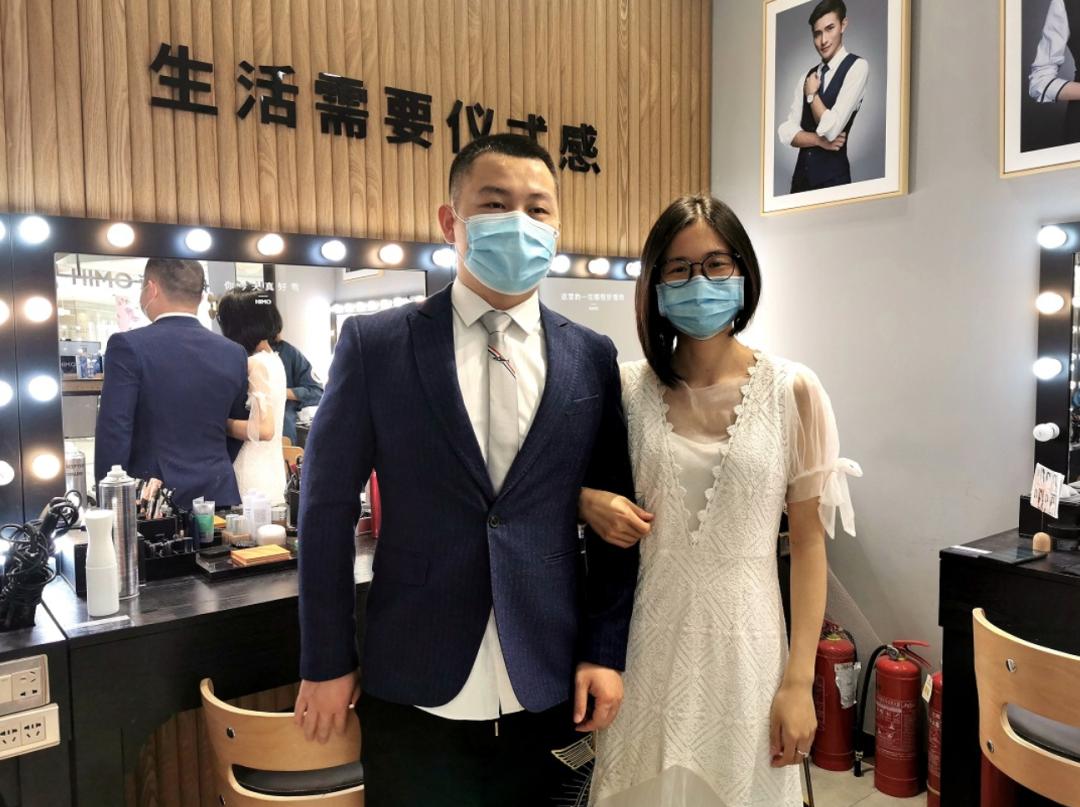 德孝中华周刊推荐:胡晓晗、周亚,结婚快乐!