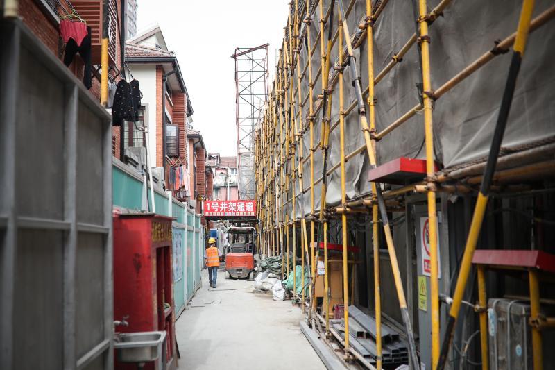 上海石库门首尝抽户改造:抽离部分居民释放空间
