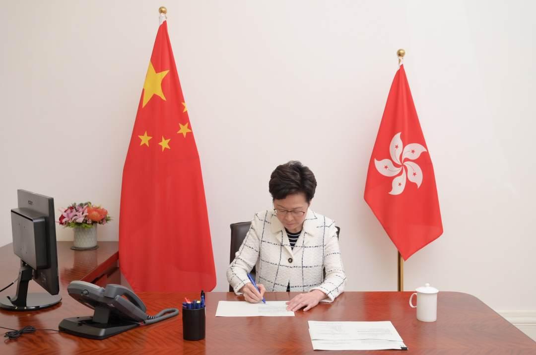 人民日报客户端|香港国安法正式生效