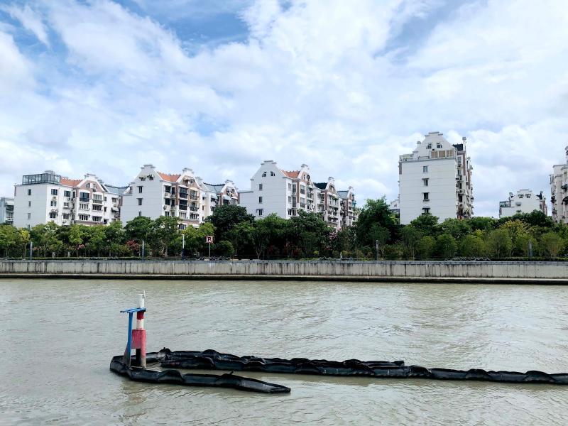 苏州河长宁段,11.2公里岸线串联10座公园绿地,篮球场滑板场都安排上了--上观