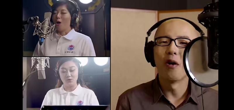 """""""人民英雄""""张伯礼亮相科普日主题曲MV,平安与科技工作者同唱这首歌"""