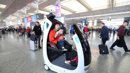 无人驾驶,5G高清直播,这些最前沿的新技术已经在上海虹桥火车站用上啦