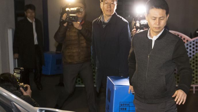 ...韩国总统府首遭搜查, 青瓦台魔咒 浮现图片 64852 689x390