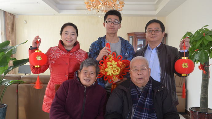 习总前任老婆郑_这个上海家庭做了什么事情 能够得到习近平的接见?_新闻中心 ...