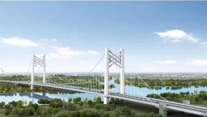 上海黄浦江上首座悬索桥将于年内开工,非机动车首次实现直接骑行过江