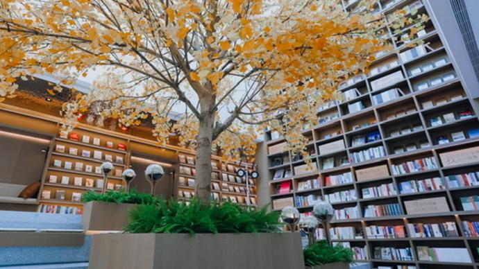 在书店里买房子?上海的大隐书局开进苏州的地方出人意料