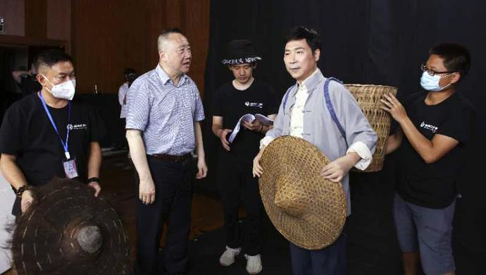 廖昌永触电,中国首部8K全景声实景原创歌剧电影《贺绿汀》开机