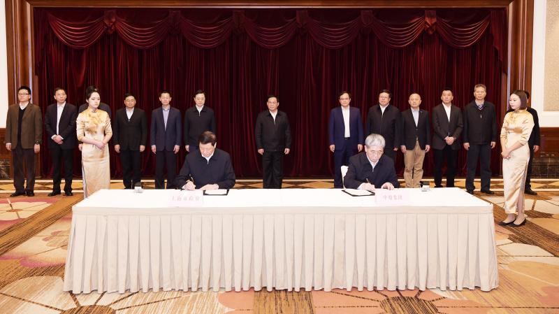 """上海与我国第一大造船集团签署合作协议,李强应勇会见""""掌门人"""""""