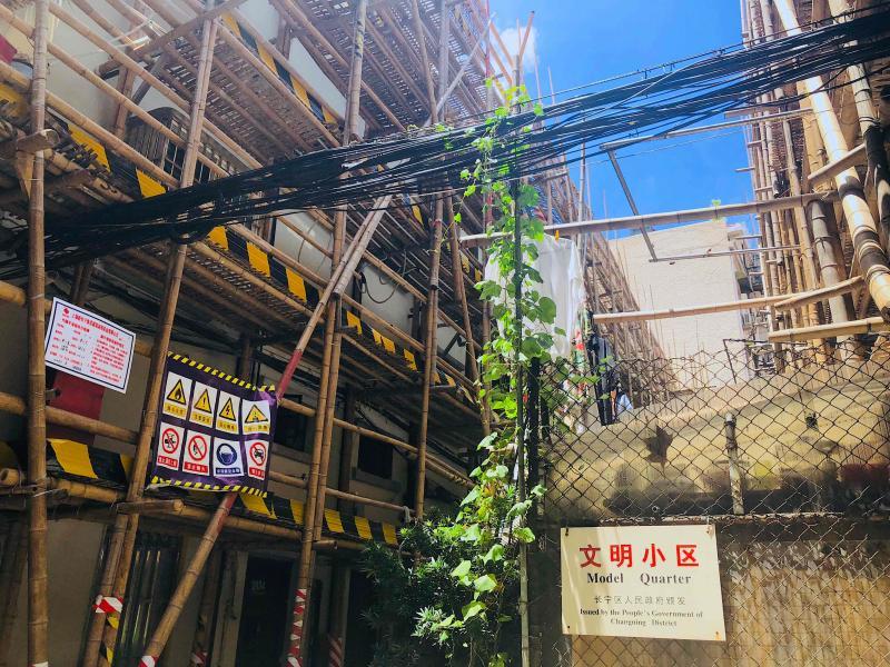 """""""九旬""""岐山村正经历近年来最大规模修缮"""
