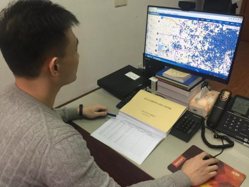 社区矫正民警的春节24小时:7000余社区服刑人员每天两次点名,吃泡面视频团聚