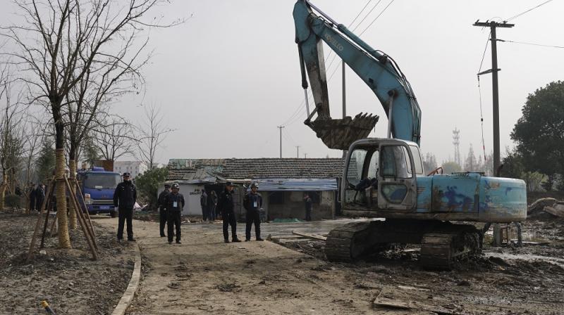 昔日城中村将建公园养老院 青浦盈浦街道腾地300余亩